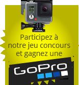 Participez à notre jeu concours et gagnez une GoPro